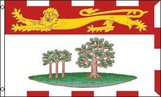 - AZ FLAG Prince Edward Island Flag 3' x 5' - Canada - Canadian Region of Prince Edward Island Flags 90 x 150 cm - Banner 3x5 ft