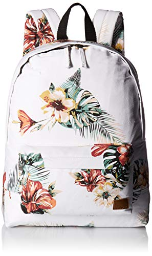 Roxy womens Sugar Baby Canvas Solid Backpack, Marshmallow Tro, One
