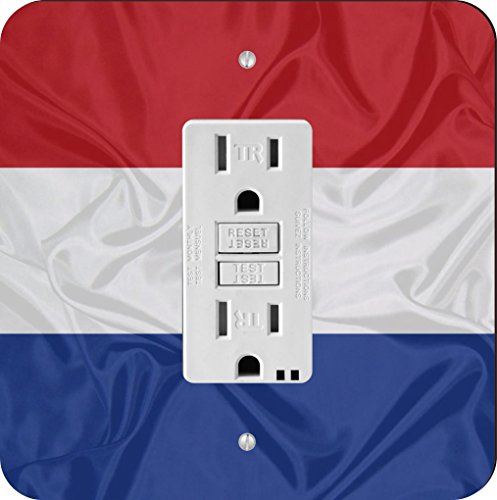 Rikki Knight 1717 Netherlands Flag Design Light Switch Plate
