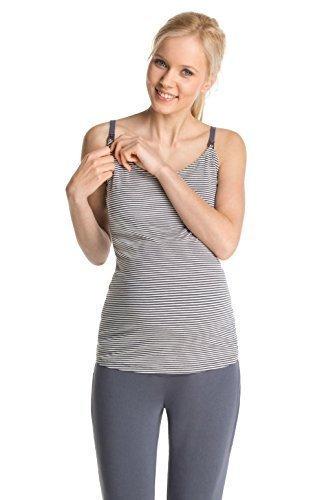 ESPRIT Maternity Enfermería Camiseta sin mangas Embarazo, con Fabricantes de espagueti /Top, Camisa