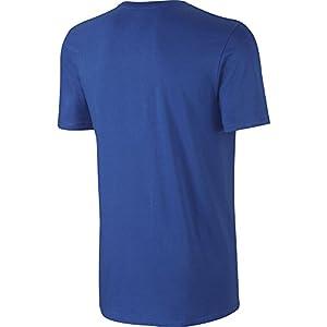 NIKE Men's Sportswear Hangtag Swoosh Tee, Game Royal/White, Large