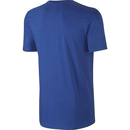 M Nsw Uomo Royal Nike Corte A Hangtag Tee Swoosh white Game Maglietta Maniche 5qPdd1wzx