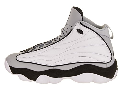 8 Wolf Grey Strong 5 Pro Nike White Black Jordan Shoes Men's qP47Zz