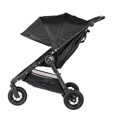 Baby Jogger 2016 City Mini GT Stroller in Black with Parent Console by Baby Jogger (Image #1)