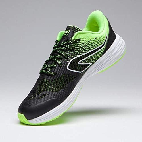 Kalenji - Zapatillas de Running de Caucho para niño, Color Negro, Talla 35 EU: Amazon.es: Zapatos y complementos