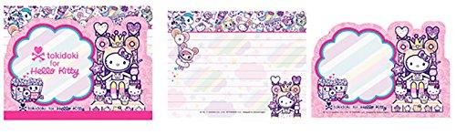 Pastel Scratch Pad - Tokidoki x Hello Kitty Kawaii Fabulous Note/Memo Pad Donutella Sprinkle Kingdom (Pastel Lavender Donut Crown)