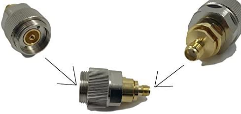 APC-7 APC7 to SMA Male Plug Connector Adapter Calibration for Network Analyzer