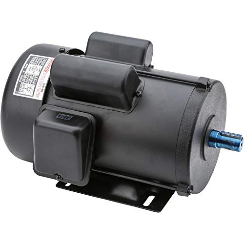 Grizzly H5385 Motor 2 HP Single-Phase 3450 RPM TEFC 110V/220V ()