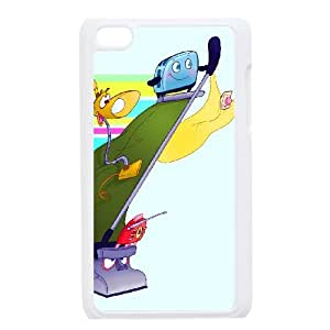 iPod Touch 4 Phone Case White Brave Little Toaster MN6612938