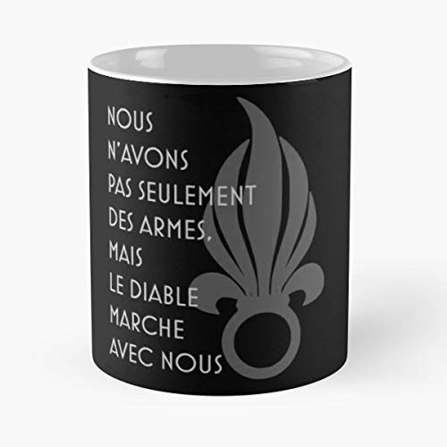 Legionnaires Unit - Foreign Legion Legio Patria Nostra Motto French Army -funny Present For My Greatest Boss Male Or Female, Men, Women, Great Office Gift Mugs, Birthday, Leaving, Bold, Cup, 11 Oz
