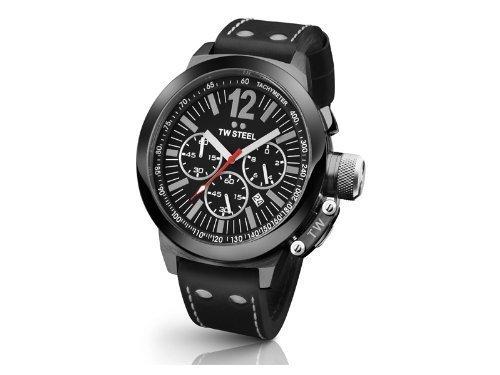 TW Steel TW CE 1034 - Reloj para hombres, correa de cuero: Amazon.es: Relojes