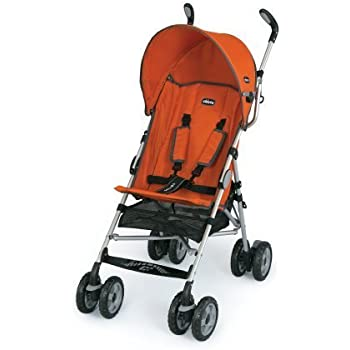 chicco capri lightweight stroller tangerine umbrella strollers baby. Black Bedroom Furniture Sets. Home Design Ideas