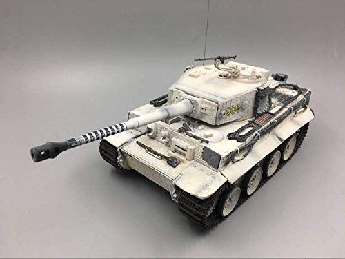 WWII German Tiger I with 88 Killing Ring 1/32 DIECAST Model Finished Tank FOV