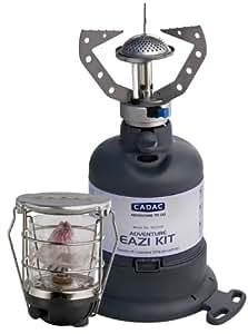 CADAC 902320 Adventure Eazi - Juego de lámpara y hornillo, no incluye bombona