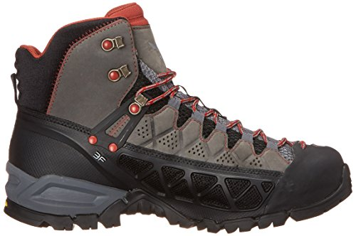 Randonnée De Alp Noir indio Chaussures Salewa Hautes Charcoal 0793 Femme tex Ws Mid Gore Flow 8anwURqS