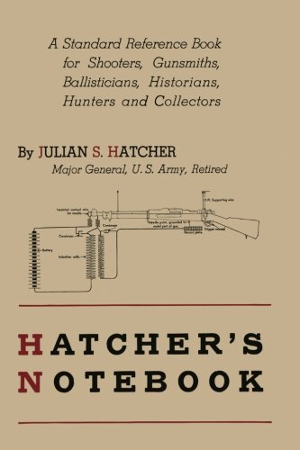 Antique Hunter Game - Hatcher's Notebook: A Standard Reference Book for Shooters, Gunsmiths, Ballisticians, Historians, Hunters, and Collectors