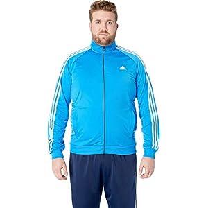 adidas Men's Essentials 3-Stripe Tricot Track Jacket