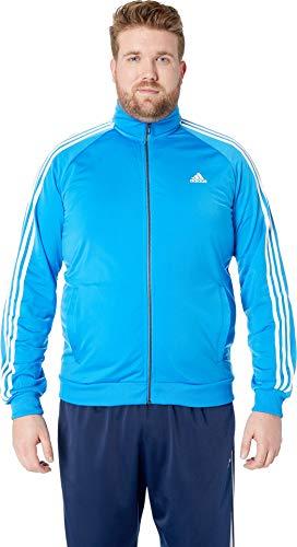 - 41TPdNHK0mL - adidas Men's Essentials 3-Stripe Tricot Track Jacket