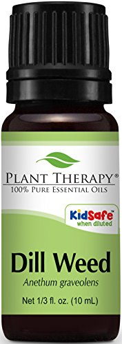 Plant Therapy Dill Weed Essential Oil 10 mL (1/3 oz) 100% Pure, Undiluted, Therapeutic (Best Plant Guru Plant Therapy Essential Oils Digests)