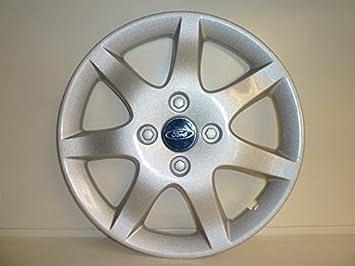 Juego de Tapacubos 4 Tapacubos Diseño de Ford Focus r 15: Amazon.es: Coche y moto
