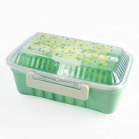 a043afa3621c Amazon.com: Mikash Lunch Box Bento Case Compartment Picnic Food ...