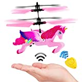 Girls Over 6 Years Old Unicorn Toys,Flying RC Pink