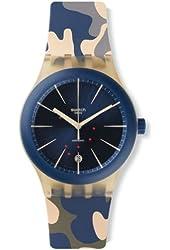 Swatch Men's Originals SUTT400 Multicolor Rubber Automatic Watch