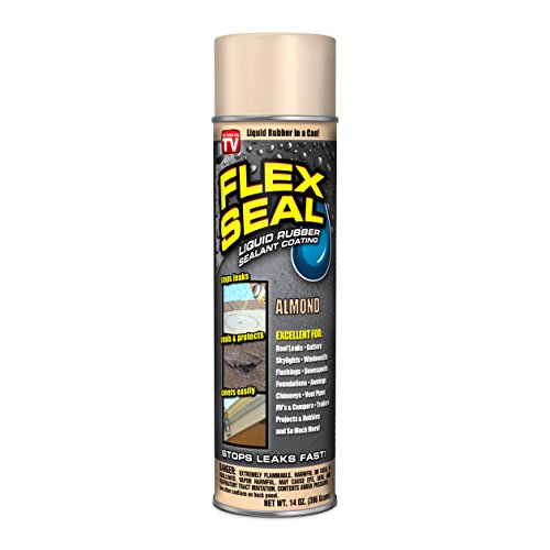 Coating Smooth Rubber (Flex Seal Spray Rubber Sealant Coating, 14-oz, Almond)