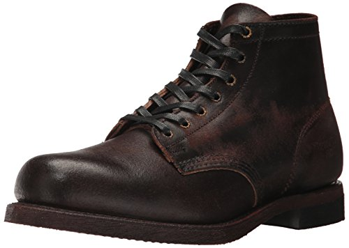 FRYE Men's Prison Combat Boot, Chocolate, 8.5 D US - Frye Boot Mens Boots