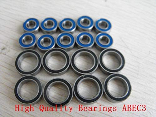 Huscus HPI Nitro RS4 MT,MT2,RS4 3 Rubbe RC Bearing Sets
