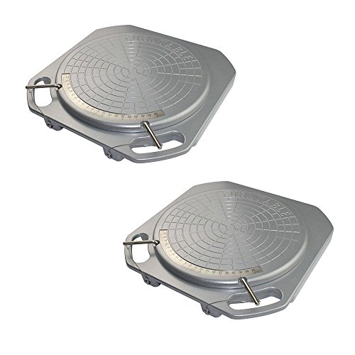 Price comparison product image YAKO Turntable / Turnplate of Wheel Aligner (Set of 2)