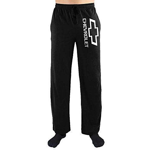 Chevrolet Chevy Logo Emblem Print Men's Loungewear Lounge Pants-Medium from Bioworld