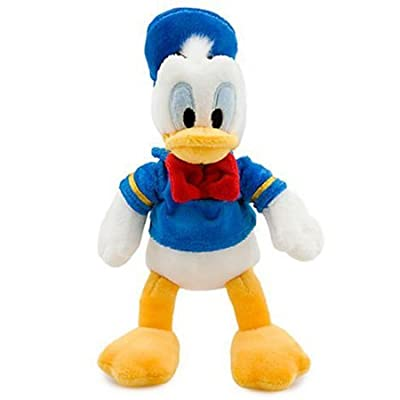 Disney's Donald Duck Plush - Mini Bean Bag - 9 1/2'': Toys & Games