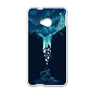 Personal Customization Frozen Snow Queen Princess Elsa Cell Phone Case for HTC One M7