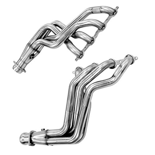 Kooks Custom Headers 24202400 Stainless Steel Headers 1 7/8 in. x 3 in. Long Tube w/Stamped Merge Collector And O2 Bungs Stainless Steel Headers