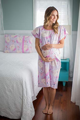 040a15eb99039 Baby Be Mine Gownies – Labor   Delivery Maternity Hospital Gown Maternity