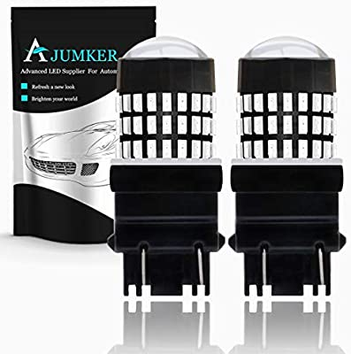 AJUMKER 3157 3156 3057 4157 4057 - Bombilla LED con Lentes de ...