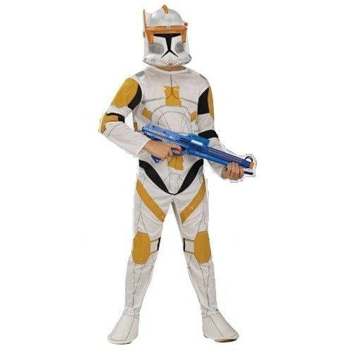 [Clone Trooper Commander Cody Costume - Large] (Star Wars Commander Cody Costumes)