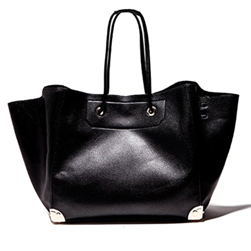 Hb125080c2 Pu Leather European And American Style Women's Handbag Bucket-type Picture Package