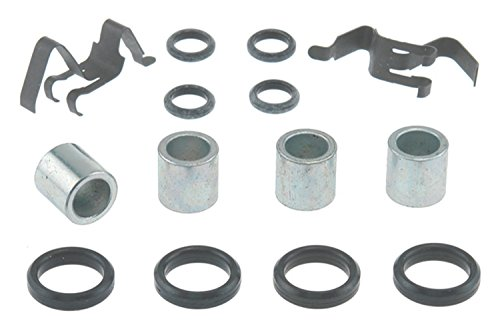 - ACDelco 18K256X Professional Front Disc Brake Caliper Hardware Kit with Clips, Seals, and Bushings