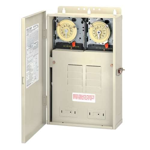 Intermatic T40000Rt3 Timer Control System W/300W Transformer & Load Center by Intermatic