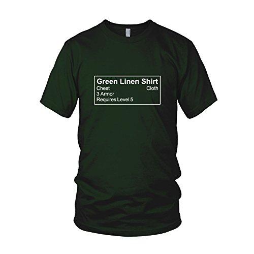 Shirt Item - Herren T-Shirt, Größe: XXL, Farbe: dunkelgrün