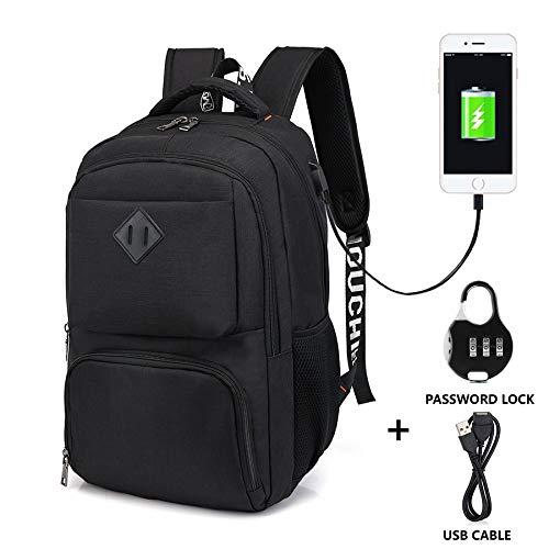 461bdadab28 Travel Laptop Backpack - Slim Durable Business Laptops Backpacks  Daypacks Knapsacks Rucksacks with Laptop Compartment, Water Resistant  College School ...