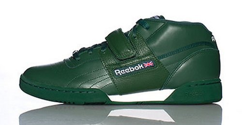 Mens Workout Mid Strap Racing Green Green W Midtop Shoes, Size: 14 D(M) US, Color: Racing Green Team Dark Green White