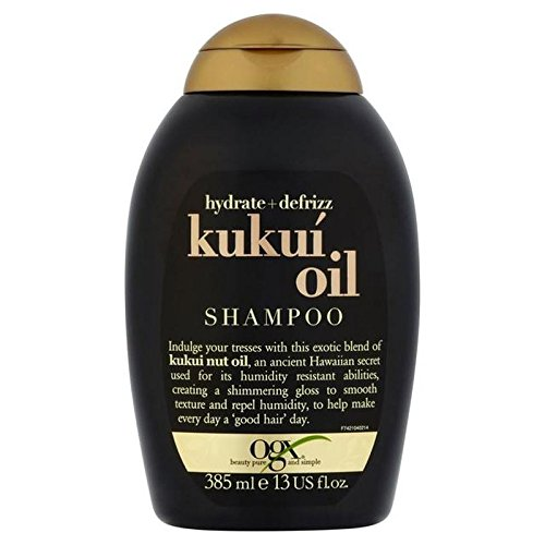 Ogx Defrizz Kukui Oil Shampoo 385ml (PACK OF 4)