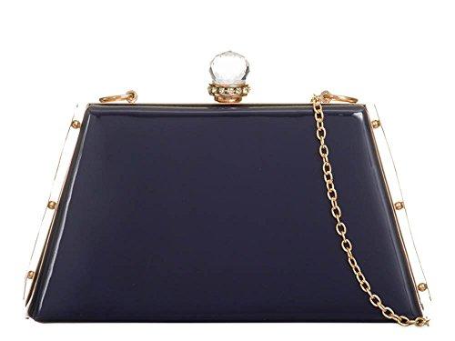 pour marine femme Pochette bleu petit blanc Hautefordiva 1p5Ywx
