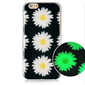 ZXSPACE Daisy Pattern Luminated Hard Back Case for iPhone 6