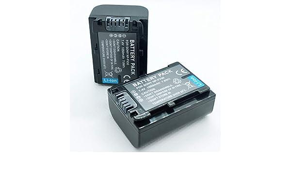 HDR-PJ820 Handycam Camcorder Battery Pack for Sony HDR-PJ800 HDR-PJ810