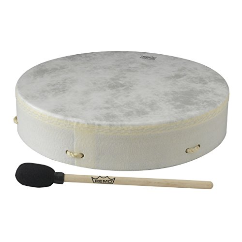 Remo E1-0316-00 Buffalo Drum - Standard, - Hand Drums Indian