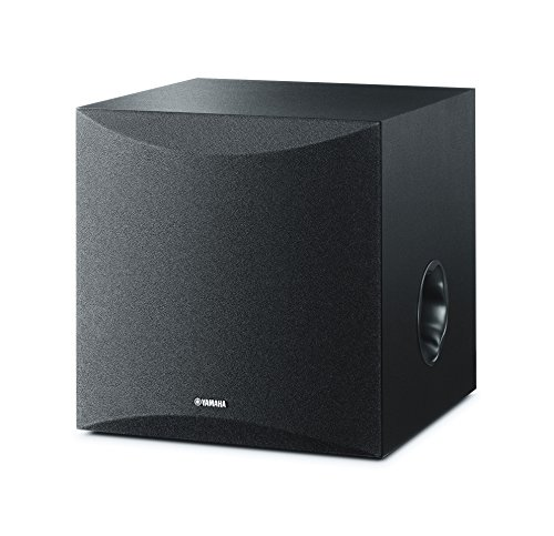 Yamaha 8″ 100W Powered Subwoofer – Black (NS-SW050BL)